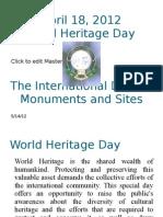 World Heritage Sites Day