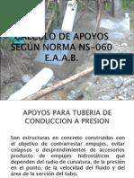 CALCULO DE APOYOS SEGÚN NORMA NS-060 E
