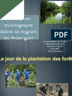 L'activite ecologique dans la region de Kourgan