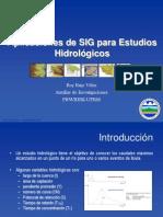 Aplicaciones de GIS a Estudios Hidrologicos_Cohemis2007