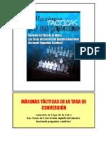 Maxim as Tactic as Conversion