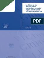 La ética en las instituciones sanitarias,Fundación Grifols