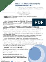 PESQUISA EM EDUCAÇÃO -  folder