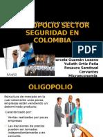 Oligopolio Sector Seguridad en Colombia