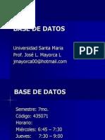 Base de Datos Alumnos