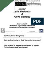 Solid Mechanics Review 061904
