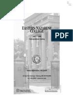 Undergraduate Catalog 2007-2008