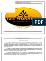 Tea Monarch Final Document