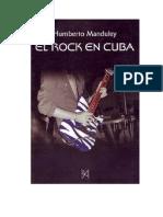 El Rock en Cuba. Humberto Manduley. 2001