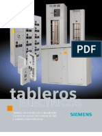 Cat Tableros Siemens