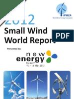 WWEA Small Wind World Report Summary 2012