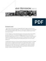 Gov. Jerry Brown's May budget revision summary 2012-2013