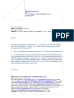 PDF Emails - private Insurance and the Games