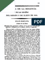 BOE febrero de 1813 La Guerra de la independencia en la Ribera del Duero SALAMANCA