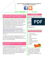 Live Wright April 2012 Newsletter
