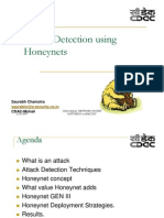 Attack Detection Using Honeynets