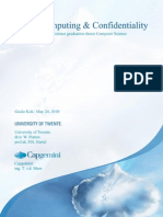 Cloud Computing and Confidentiality