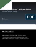 407 Editing Media With Av Foundation