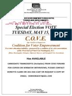 Cove Informational Flyer - Transcripts
