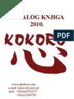 KOKORO_katalog knjiga