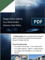 Prezentare Hidrocentrale