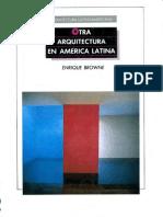 Browne-Otra Arq en Am Latina
