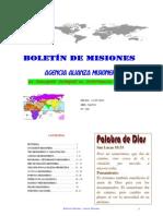 BOLETIN DE MISIONES 14-05-2012