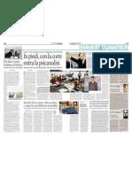 In Piedi, Con La Corte Entra La Psicoanalisi