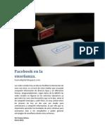 Facebook en La Ensenanza