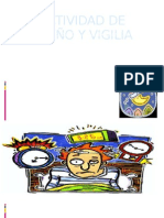 ACTIVIDAD DE SUEÑO Y VIGILIA