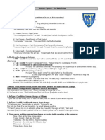Indirect Speech+ Rules