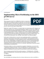 Micro Partitioning