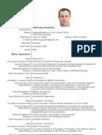 Vakhtang Asanidze - CV