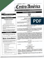 Decreto 9-2012 Ley de Vivienda