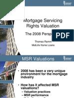 2008 - MSR Presentation From MetLife