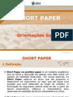 2 Elaboracao de Short Paper