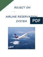 Airline System Proj