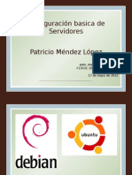 PresentacionConfiguracioServidoresTallerFlisol2012