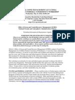 2012 PR FC Workshop Announcement and Agenda