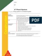 SikaTack Panel System_datasheet