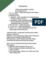 Patologi Ikan Akibat Penyakit