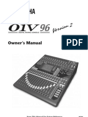 Yamaha O1V96V2 Manual | Electrical Connector | Sound Technology on
