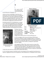 Marian Anderson - Wikipedia, The Free Encyclopedia