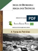 Energia de Biomassa - Energia Dos Tropicos