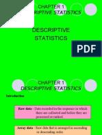 Chapter 1 Describing Data(2)