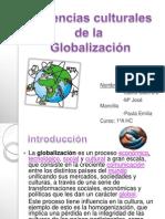 Influencias Culturales de La Globalizacion (H)