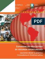 Segundas Oportunidades Educativas en América Latina