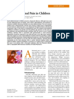 Acute Abdominal Pain in Children