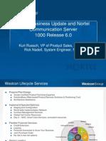 Nortel BizUpdate CS1000 R6 Combined9.15.09