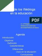 Uso de Los Weblogs